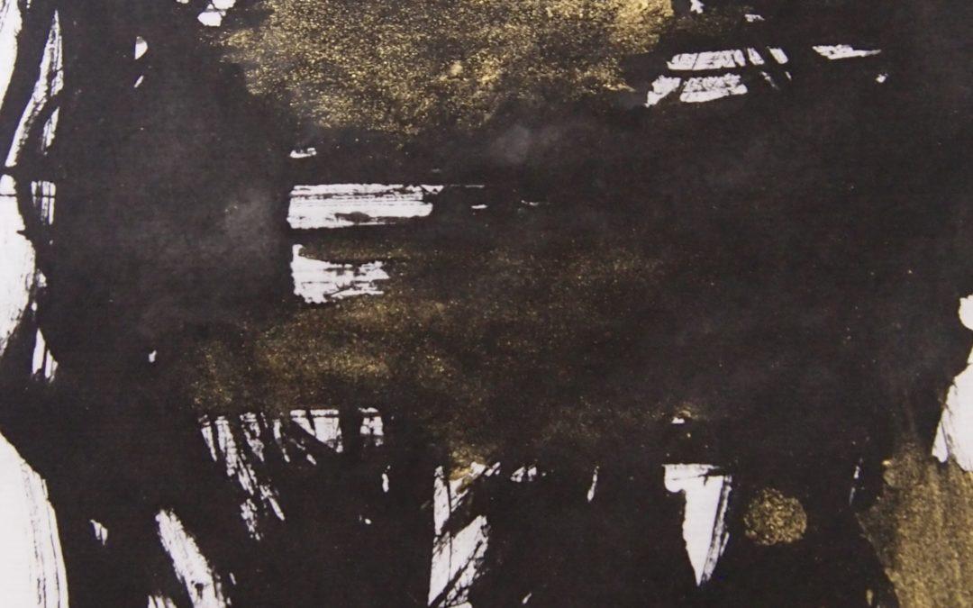9/12~9/30 白石絵里個展「意臨・形臨」of Mark Rothko,Pierre Soulages